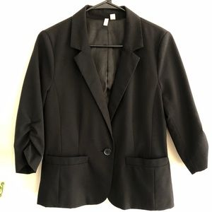 Frenchi 3/4 Sleeve Blazer (junior - L, women - S)